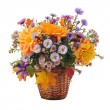 Bouquet of autumn flowers — Stock Photo #2429937