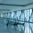 Glass corridor — Stock Photo