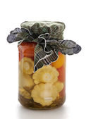 Pickled vegetablesfruits — Stock Photo