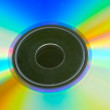 Rainbow disk — Stock Photo