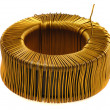 Stock Photo: Core of copper wire