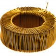 Core of copper wire - Stock Photo
