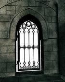 Porta de metal — Fotografia Stock