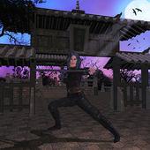 Assassino de samurai — Fotografia Stock