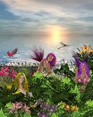 çiçek perileri — Stok fotoğraf