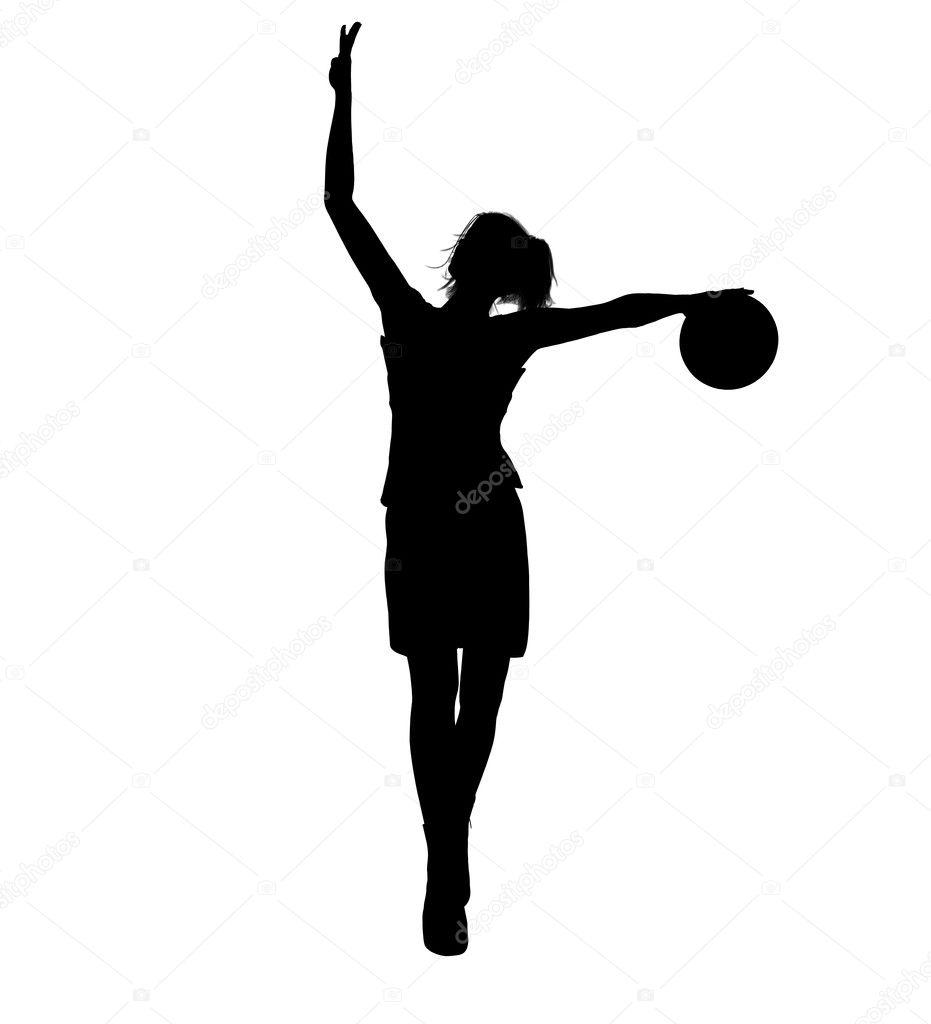 36 Fabulous Home Libraries Showcasing Window Seats: Girl-basketball-player-clipart-231x300.jpg (231×300)