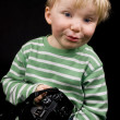 Cute little boy — Stock Photo