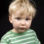 Portrait of a cute little boy — Stock Photo #2444045