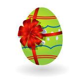 3D easter egg — Stock Vector