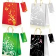Royalty-Free Stock Vector Image: Set of shopping bag
