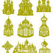 Church orthodox — Stock Vector #2467504