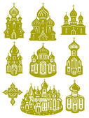 Church orthodox — Stock Vector