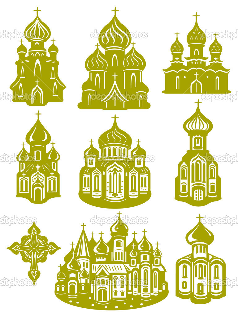 Church orthodox  Stock Vector #2467504