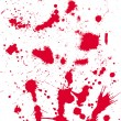 Grunge texture from blood splats - Stock Vector