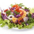 Stock Photo: Colorful salad with mixed vegetables
