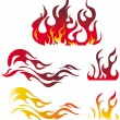 Fire graphic elements — Stock Vector #2511942