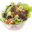 Tossed green salad — Stock Photo
