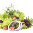 Mixed greens — Stock Photo