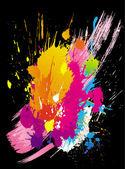 Vector grunge kleurrijke achtergronden — Stockvector