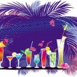Royalty-Free Stock Vector Image: The cocktail