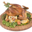 Roasted chicken — Stock Photo #2589032