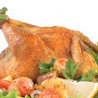 Roasted chicken — Stock Photo #2589041