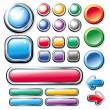 Collection of web elements — Stock Vector