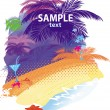 Royalty-Free Stock ベクターイメージ: Summer background