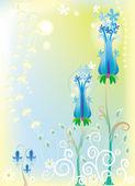 Floral background — Cтоковый вектор