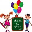 Back to school — Vector de stock #2610597