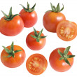 Сherry tomatoes - Stock Photo