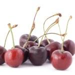Cherries on white background — Stock Photo