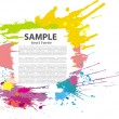 Colorful grunge banner - Stock Vector
