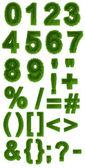 Numeric characters — Stock Photo