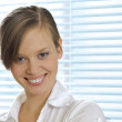 Royalty-Free Stock Photo: Portrait of smiling businesswoman