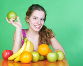 Healty woman — Stock Photo