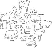 Animal set. — Stock Vector