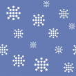 Snow background. - Stock Vector