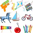 Royalty-Free Stock Vector Image: Toy Icons