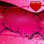 Valentine Heart Background — Stock Vector #2499593