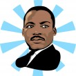Martin Luther King 2 — Vector de stock #2501082
