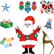 Christmas Icons 2 - Stock Vector