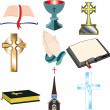 Church Icons 2 - Stock Vector
