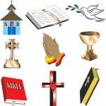 Church Icons 1 — Stock Vector