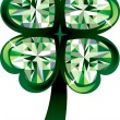 Stock Vector: Clover Shamrock