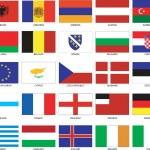 European Flags — Stock Vector