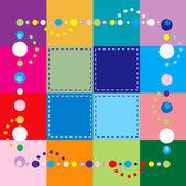 Square Template — Stock Vector
