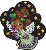 Christmas Angel 5 — Stock Vector