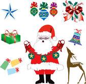 Christmas Icons 2 — Stock Vector