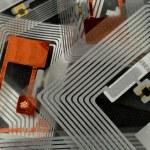 RFID-tags — Stockfoto